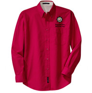 Port Authority® Long Sleeve Easy Care Shirt Men's with Sea Base Logo