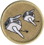 Flying Toaster  Patrol Patch
