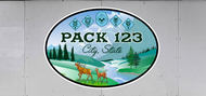 Custom Cub Scout Pack Woodland Deer Trailer Graphic (SP7023)