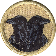 Double Crow  Patrol Patch