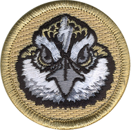 Lightning Bolt Bobwhite Patrol Patch