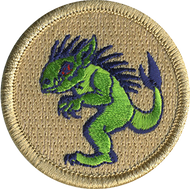 Official Licensed Chupacabra Patrol Patch
