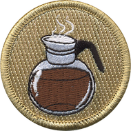 Official Licensed Coffee Pot Patrol Patch