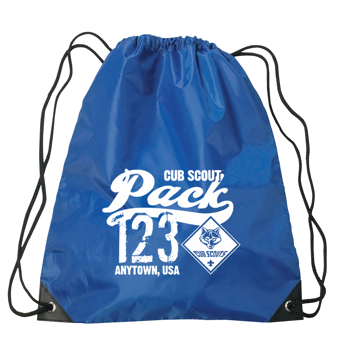 af8f16b70047 Drawstring bag with Cub Scout designs - 150 pcs - ClassB