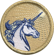 Official Licensed Unicorn Patrol Patch