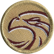 Crimson Hawk Patrol Patch