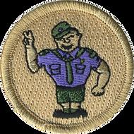 Scout Salute Patrol Patch