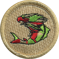 Eagle Fish Patrol Patch