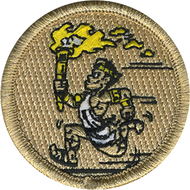 Golden Olympian Patrol Patch