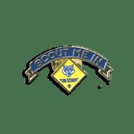 Scout Me In Cub Scout Logo Lapel Pin