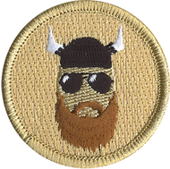 Bearded Yahoo Patrol Patch