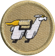 Flying Llamas Patrol Patch