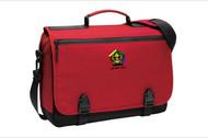Port Authority® Messenger Briefcase - Simon Kent Wood Badge Course