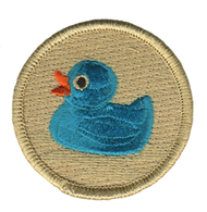 Blue Rubber Duck Patrol Patch