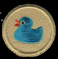 Blue Rubber Ducky Patrol Patch