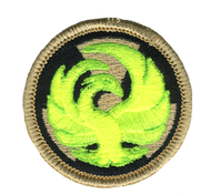 Radioactive Phoenix Patrol Patch