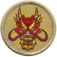 Red Dragon Patrol Patch