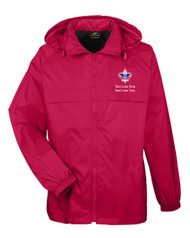 Boy Scouts Red Hooded Jacket with BSA Corporate Logo