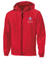 Boy Scouts Red Sport Tek Jacket with BSA Corporate Logo