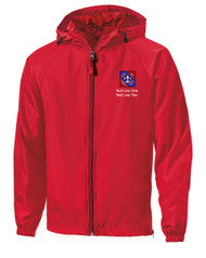 Scouts BSA Red Sport Tek Jacket with NYLT Logo