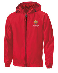Boy Scouts Red Sport Tek Jacket with Cub Scout Logo