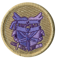 Purple Owl Ninja Patrol Patch