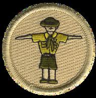 T Pose Scout Patrol Patch