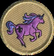 Pink Unicorn Patrol Patch