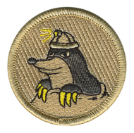 Mole Men Patrol Patch