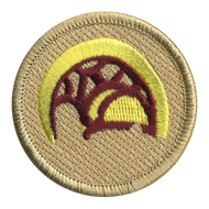 Alli'i Warrior Helmet Patrol Patch
