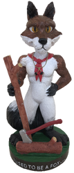 Wood Badge Fox Critter Bobblehead