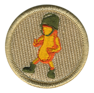 Cheese Puff Army Patrol Patch