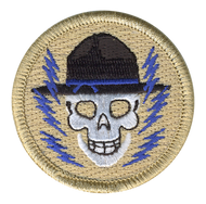 Electric Skulls Patrol Patch
