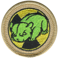 Atomic Hamster Patrol Patch