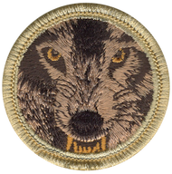 Alpha Wolves Patrol Patch