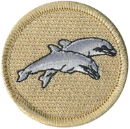 Double Dolphins Patrol Patch