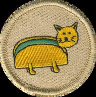 Taco Cat Patrol Patch