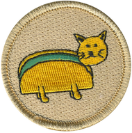 Taco Cat Patrol Patch