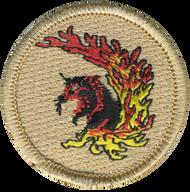 Flaming Panther Patrol Patch