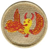 Flaming Ducky Patrol Patch