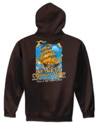 50/50 Zip Hooded Sweatshirt - Treasure Valley Scout Reservation 2019