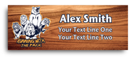 Cub Scout Critter Wooden Name Tag