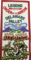 Legend Lenni Lenape Sash Patch