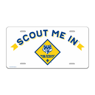 Scout Me In Cub Scout Logo License Plate (SP7226)