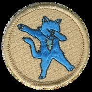 Dab Cat Patrol Patch