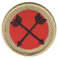 Crossed Arrows Patrol Patch