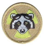 Radioactive Raccoon Patrol Patch