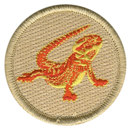 Bearded Dragon Patrol Patch