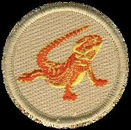 Bearded Dragon Patrol Patch