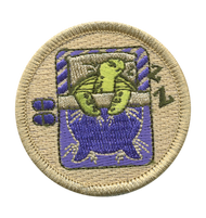 Napping Turtle Patrol Patch